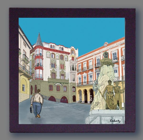 Cuadro de la Casa Bustamente de Portugalete