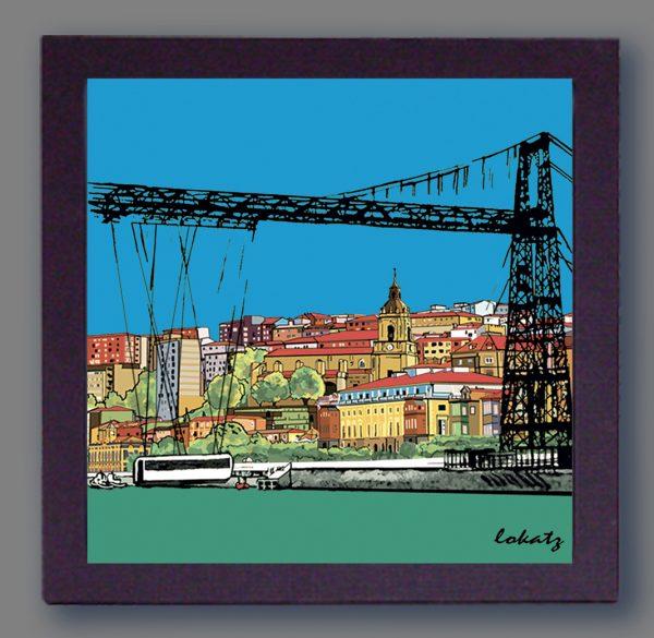 Cuado del Puente Colgante de Portugalete